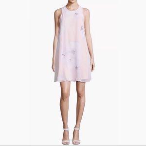 Calvin Klein pink floral dress